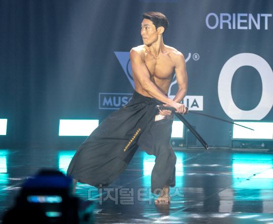 [포토] 연극배우 김대순, 머슬마니아 피트니스 부문 홀로 참가